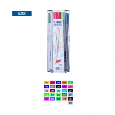 STA 6200 Fineliner 26 Colors Journal Planner Writing Note Drawing Colored Pens